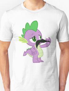 Mustache Spike Unisex T-Shirt