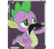 Mustache Spike iPad Case/Skin