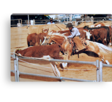 Leapping in Bounds Canvas Print