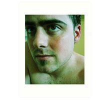 Selfish Portrait Art Print