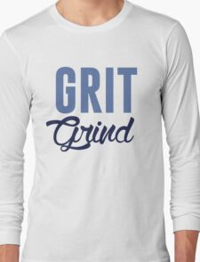 GRIT AND GRIND GRIZZLIES Long Sleeve T-Shirt