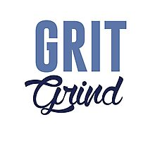 GRIT AND GRIND GRIZZLIES Photographic Print