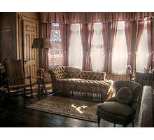 Sitting Area in Edison's Master Bedroom, Glenmont Photographic Print