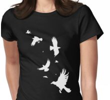 A Murder of Crows Redux Womens Fitted T-Shirt