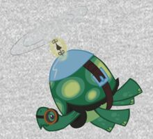 Tank: The Tortoise (Helicopter) Kids Clothes