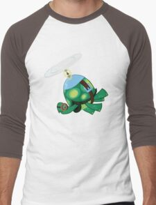 Tank: The Tortoise (Helicopter) Men's Baseball ¾ T-Shirt