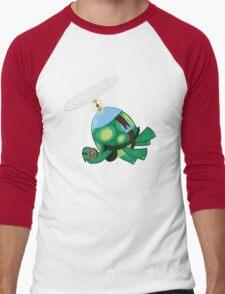 Tank: The Tortoise (Helicopter) Men's Baseball ¾ T-Shirt