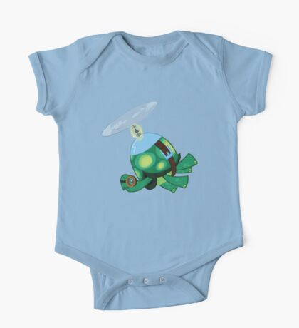 Tank: The Tortoise (Helicopter) One Piece - Short Sleeve