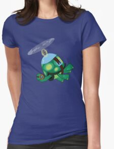 Tank: The Tortoise (Helicopter) Womens Fitted T-Shirt