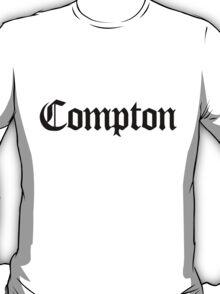 Compton Black T-Shirt