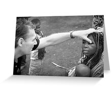 One of the Doctors on our trip in Congo Greeting Card