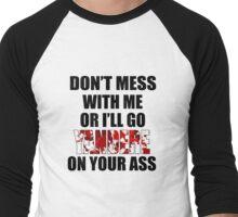 Yandere Men's Baseball ¾ T-Shirt