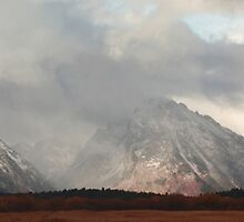 Teton ranges (panorama) by zumi