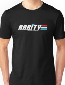 Rarity: A Real Equestrian Pony (Borderless Version) Unisex T-Shirt