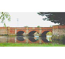 Red Bridge- Tasmania , Australia Photographic Print