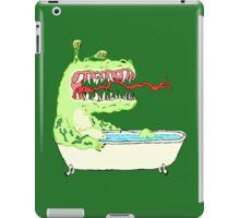 A Dragon in a Bathtub iPad Case/Skin