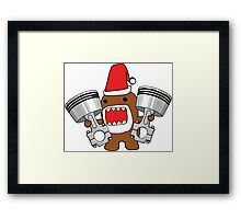 Domo Clause read my Christmas List Framed Print