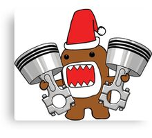 Domo Clause read my Christmas List Canvas Print