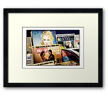 Tom Katie and look! Nicole too! Framed Print