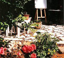Sarah's Garden Studio in Jerusalem by Sarah  Levinson