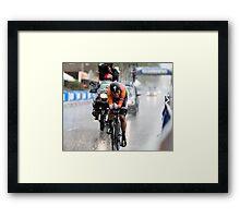Ellen van Dijk (NED) Framed Print