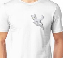 Walking _ White Wolf Unisex T-Shirt