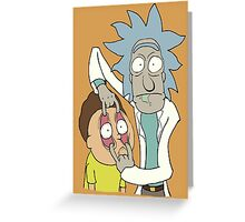 Look, Morty! Greeting Card