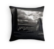 They Come and Go Throw Pillow