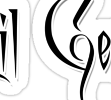 Evil Genius V.2.  Sticker