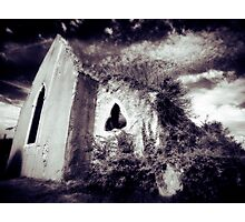 Reclaimed - The Church Photographic Print