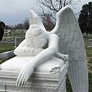 Mourning Angel by Perspective