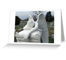 Mourning Angel Greeting Card