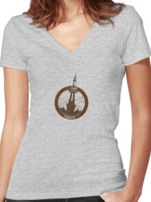 Toronto Making A Mark Women's Fitted V-Neck T-Shirt