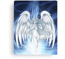 Rise of an angel Canvas Print
