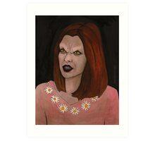 Doppelgangland - Vampire Willow - BtVS Art Print