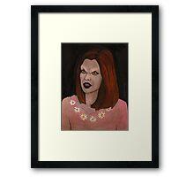 Doppelgangland - Vampire Willow - BtVS Framed Print