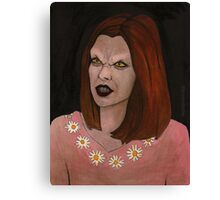 Doppelgangland - Vampire Willow - BtVS Canvas Print