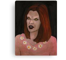 Doppelgangland - Vampire Willow - BtVS Canvas Print
