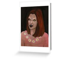 Doppelgangland - Vampire Willow - BtVS Greeting Card