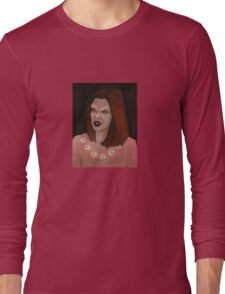 Doppelgangland - Vampire Willow - BtVS Long Sleeve T-Shirt