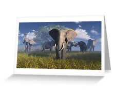 Afrique_1 / Africa_1 Greeting Card