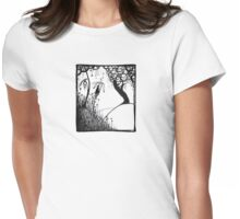 In the wild Womens Fitted T-Shirt