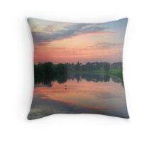 Brocket Sunset Throw Pillow