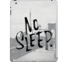 No sleep till... iPad Case/Skin