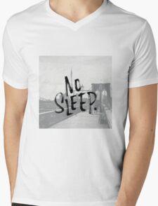 No sleep till... Mens V-Neck T-Shirt