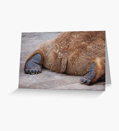 Bare Feet Greeting Card