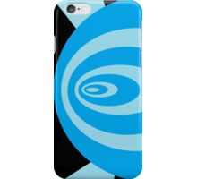 Psychedelic Blues iPhone Case/Skin