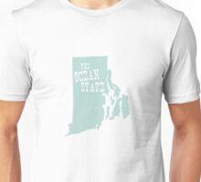 Rhode Island State Slogan Motto Unisex T-Shirt