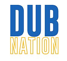 DUB NATION  Photographic Print