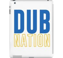DUB NATION  iPad Case/Skin